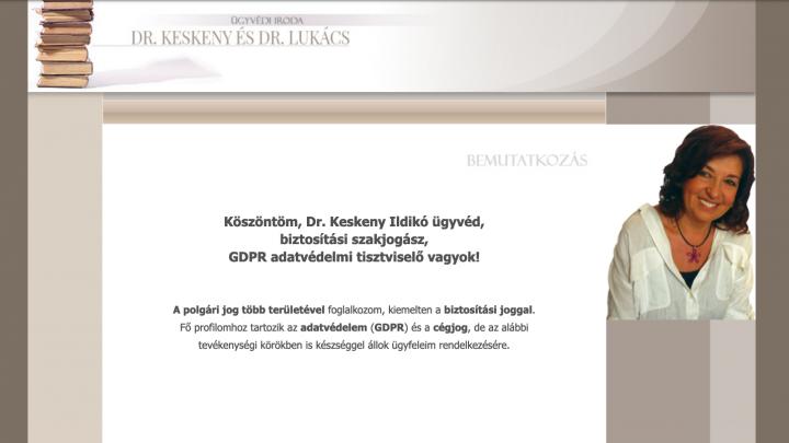 Dr. Keskeny Ildikó