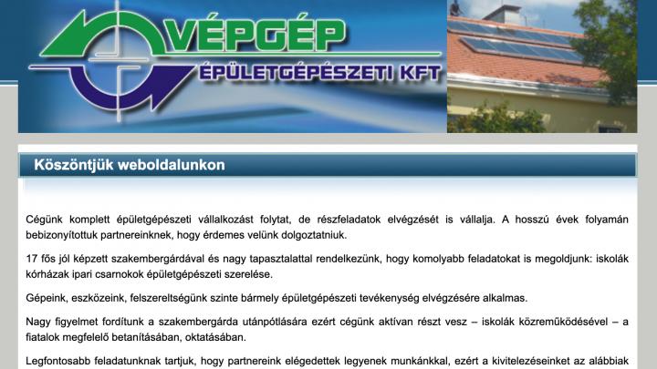 VÉPGÉP Épületgépészeti Kft.